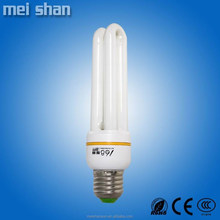 11Watt E27 2U energy saving 9mm glass tube cfl