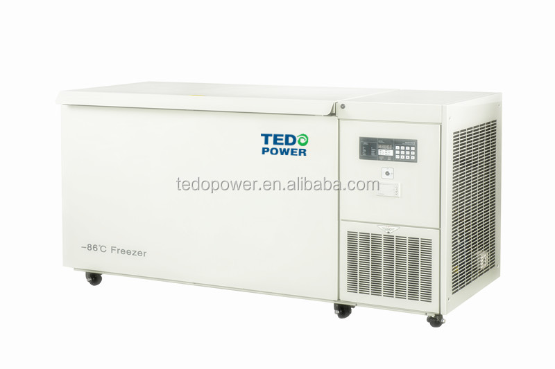 Medical/Lab ultra-low temperature freezer 668Liter -86degree Chest deep freezer