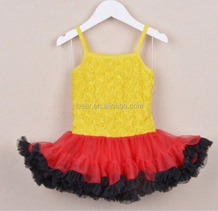 Adorable kids tutu dress set newborn baby cute fluffy pettiskirt suit 2016new design petticoat set suit