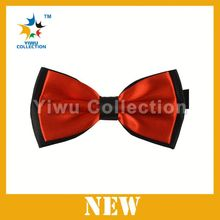 New Fashion adjustable handmade ribbon bow tie girls bow tie