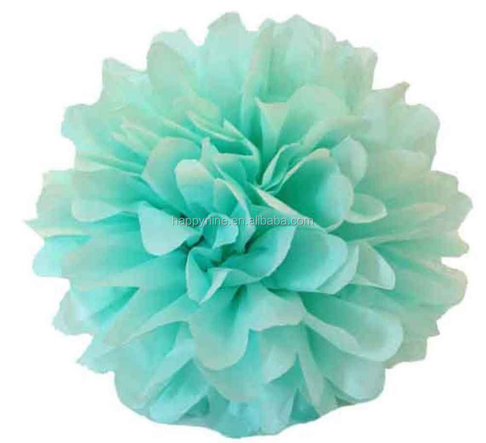 hanging tissue paper flowers