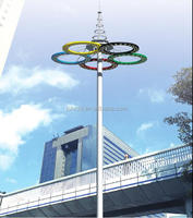 25m-35m Best Quoted Price High Mast Light for High Mast Lighting Used on Highway with Customized Color