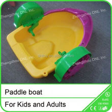 kids power paddler boat for water parks exciting water games
