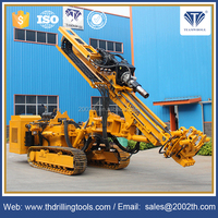 Hot selling Tunnel Diesel Pump Motor Water Well Rotary Drilling Rig For Sale