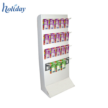 Retail Cell Phone Accessory Display,Custom Two Tier Cell Phone Charger Display Rack,Mobile Phone Charger Display Stand