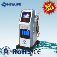 NL-SPA10 Real Factory ! multifunction facial beauty machine/water oxygen facial machine skin scrubber