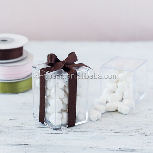 Personalized acrylic box clear small plastic gift candy boxes from design own collection