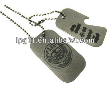 Promotion gift hot sale new fashion Cheap custom metal dog tag