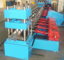 China Best suppiler guardrail roll forming machine/ W Beam crash barrier roll forming machine