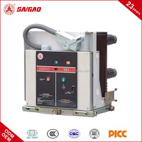 VS1 12KV 630A 1250A 1600A 2000A Indoor High Voltage Automatic Vacuum Circuit Breaker