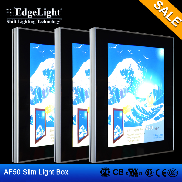 waterproof picture frames outdoor advertising light box