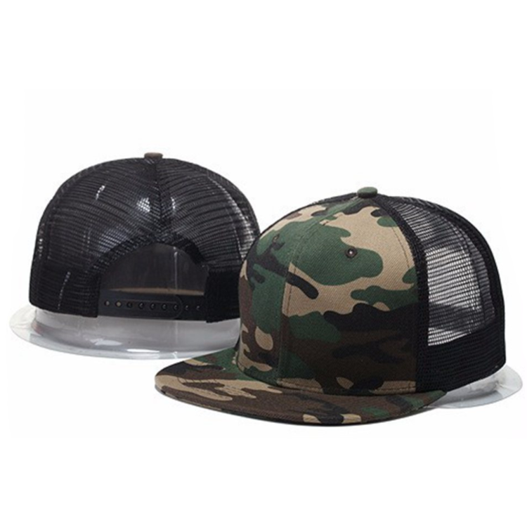 High Quality Cheap Custom Blank Camo Mesh Trucker <strong>Hat</strong>