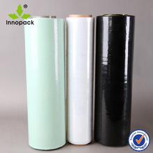 PE colorful silage bale wrapping film for grass packing