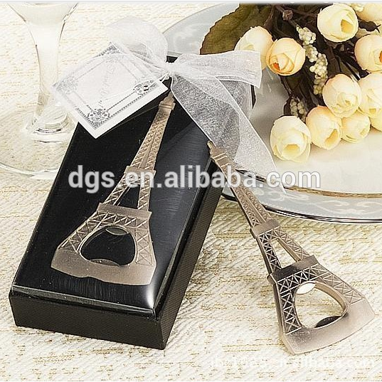 Fashion Wedding gift bottle key wine beer opener as return gift for guest