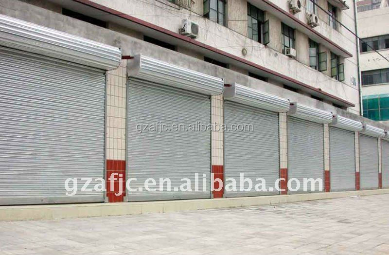 OKM steel roller shutter, Commercial security metal roll up door