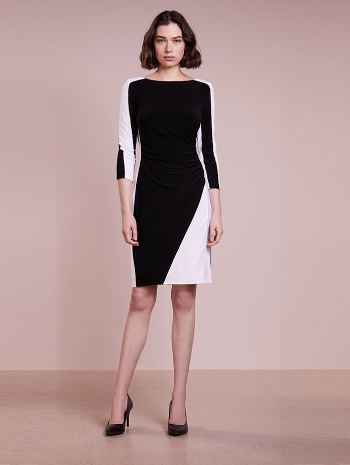 Fashion Women Business Dress With Long Sleeve