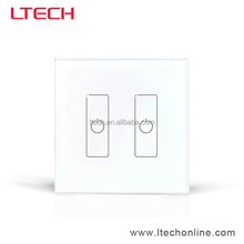 2CH DALI Touch Panel Dimming Switch