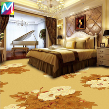 Luxury Design Wall to Wall Floral PP Hotel Carpet Machine Made for Hotel and Cinema