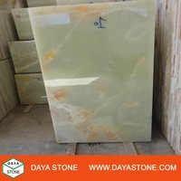 High Quality marble Iran Light Green Onyx slabs