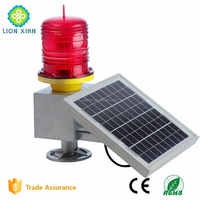 solar powered flash led light