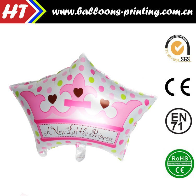 [NEW] Crown Hat Balloons Pink 70CMX50CM Foil Balloon Wholesales