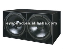 Professional audio double 21 inch subwoofer S221