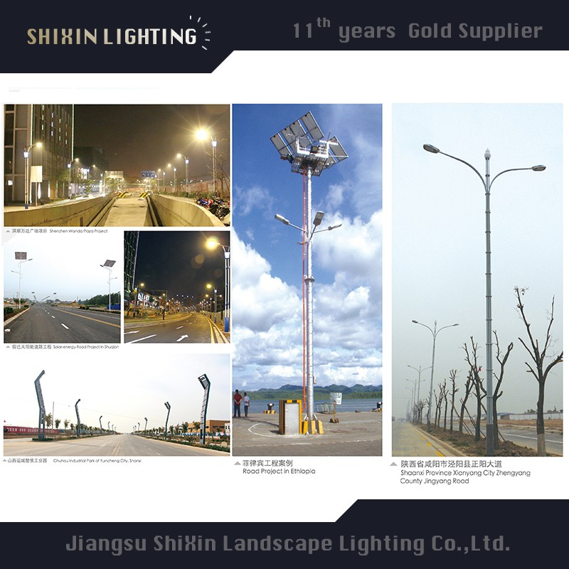 60W Solar Led Street Light With Ultra-bright And Nice Design