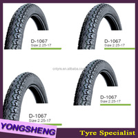 high quality cheap korea tube tire motorcycle made in china D1067