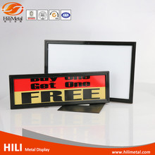 A4 plastic poster frame sign paper display stand tabletop holders