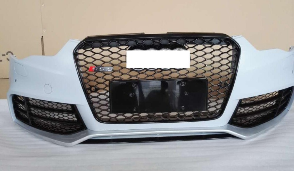 2013 bumper for Audi A5 in carbon fiber color with very good wholesale price