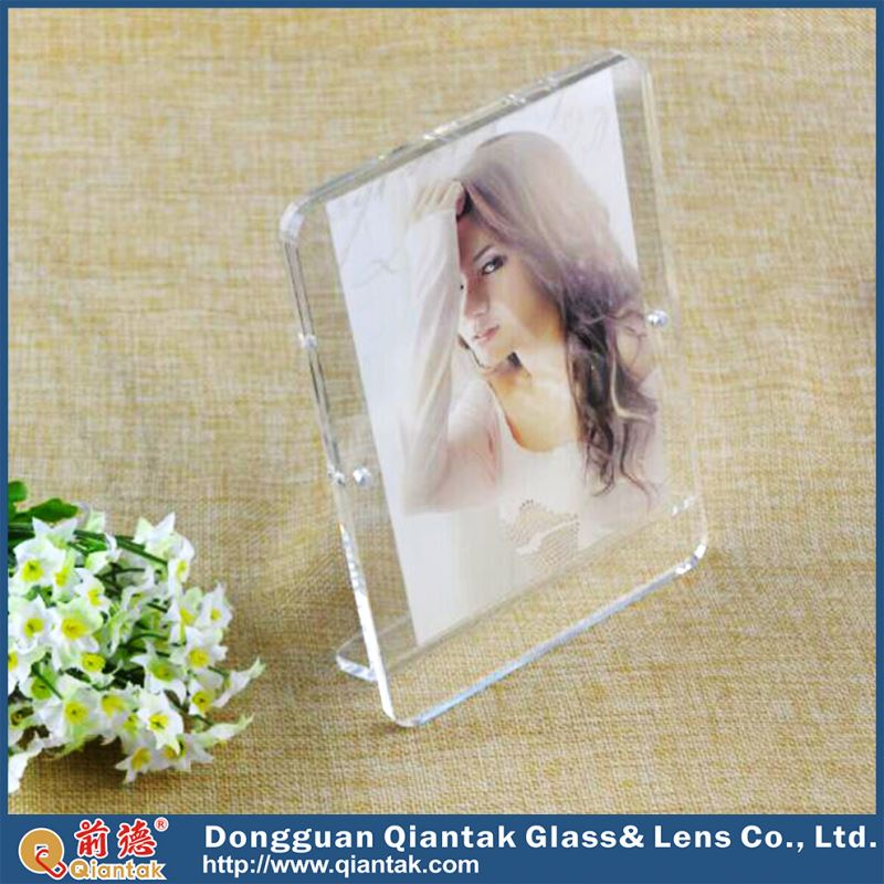 China transparent acrylic women sex picture photo frames