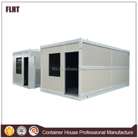 Well Insulated Finished foldable shipping container house