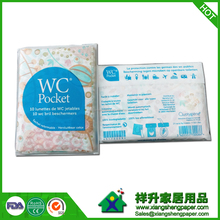 Toilet seat covers paper for travel