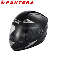 White ECE Motorcycle Helmet With Bluetooth