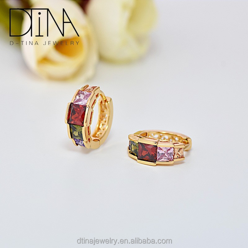 Dtina vogue jewelry earrings latest model earrings snug piercing earrings