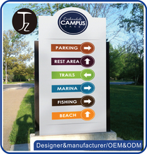 Customized metal real estate board/outdoor directory sign board