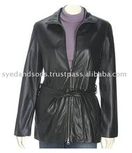 Ladies' Leather Coats ( L J - 005 )