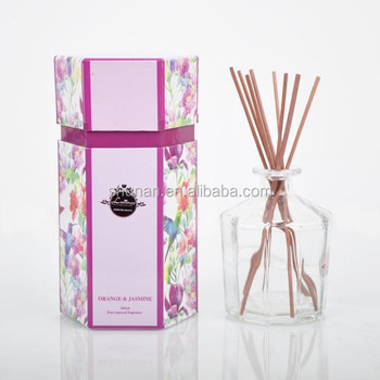 Eco-friendly essential 265ml Reed Diffuser oil diffuser,aroma diffuser,with glass bottle