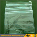 Pvc clear plastic slider bag easy vinly package with hook