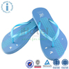 Summer Beach Custom Printed Outdoor EVA Flip Flop With Rubber Patch