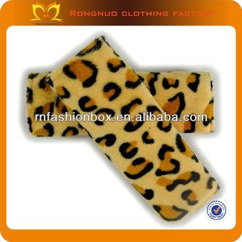 Wholesale Leopard Print Baby Stroller Belt Handmade Plush