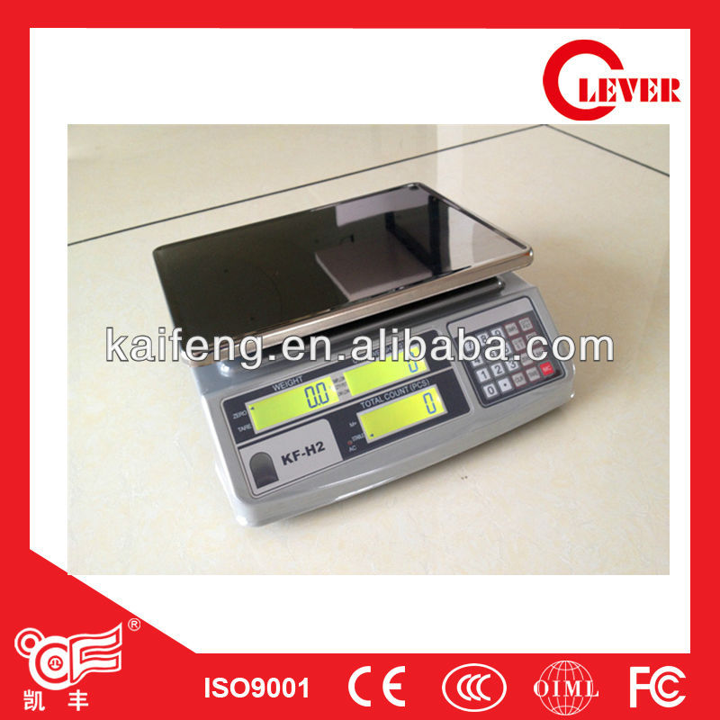 Electronic money counting scale Model KF-H2 Professional counting 30kg from Kaifeng