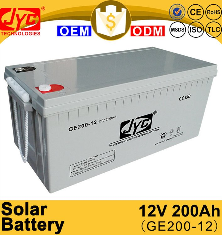 Excellent Quality 12v 200ah Solar Batteries