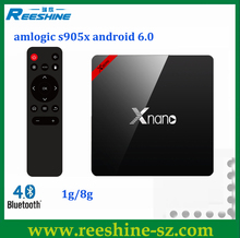 High Quality 8k android tv box fully loaded Xnano X96 Pro global tv box