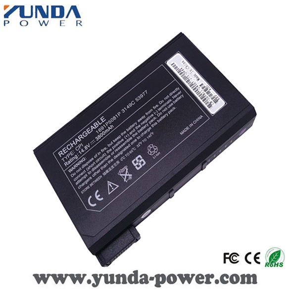 Laptop battery for Dell Inspiron 2500 3700 3800 4000 4100 4150 6000 8000 8100 8200 Precision M50 M40