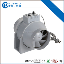 eco-friendly 120V/230V HVAC UK/US/EU variable speed ac motor temperature&speed control fan