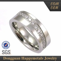 Newest Design Stainless Steel Sample Wedding Ring Designs