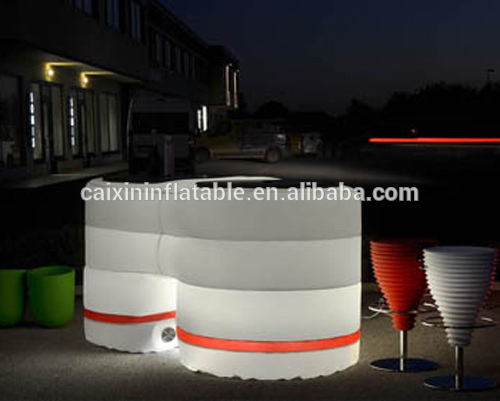 high quality part display cheap domo inflatable LED booth tent