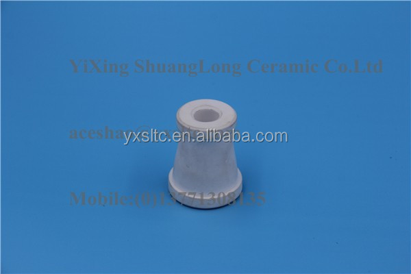 Alumina ceramic parts alumina ceramic industry ceramic oval double bore tubes