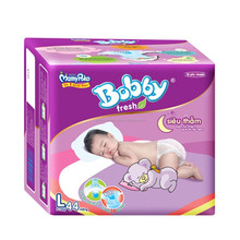 Diaper Bobby Fresh Super Dry (L - 44pcs) / Wholesale baby diapers / Baby cloth diapers